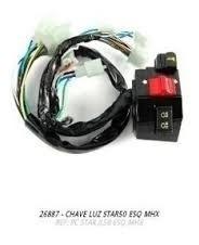 Chave Luz Farol Traxx Star 50 Lado Esquerdo Original