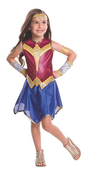 Disfraz Mujer Maravilla Para Niña