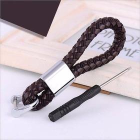Chaveiro De Couro Corda Para Chave Canivete