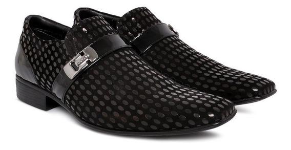 Sapato Social Jota Pe 72150 Masculino Preto