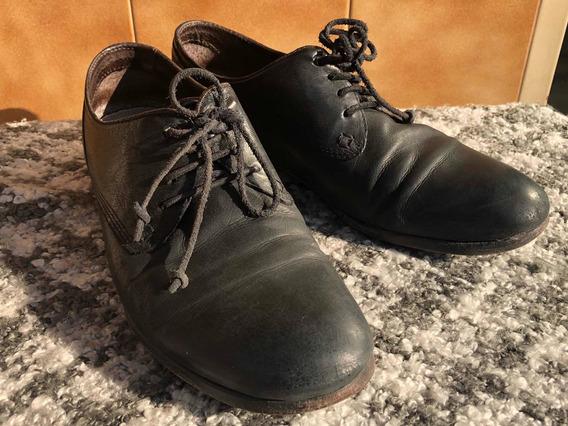 Zapatos De Cuero Diesel Negros
