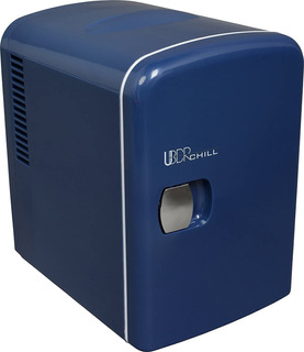 Refrigerador Personal Mini Frigorífico Para 6 Latas Azul Ma