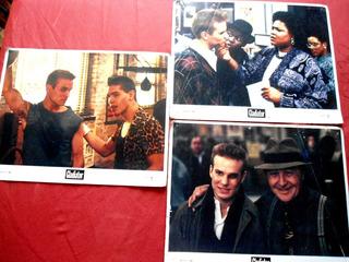 Lote De 03 Lobby Card Do Filme O Desafio (gladiator) 1992