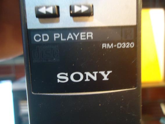 Controle Remoto Original Cd Player Sony Rm-d320