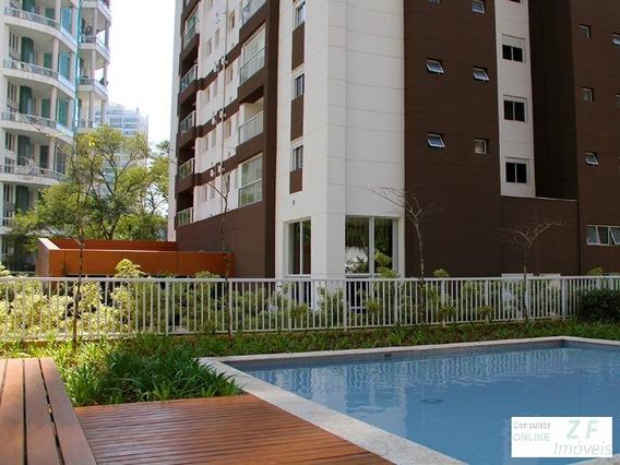 Apartamento A Venda, 2 Dormitorios, 2 Suites, 2 Vagas De Garagem, Pronto Para Morar, São Paulo, Panamby - Ap03314 - 4831312