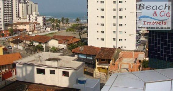 Vista-mar, 1 Dorm, Ocian, Praia Grande, R$ 160 Mil, Ap00677