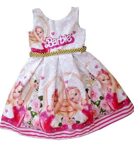 Imagen 1 de 8 de Vestido De Pliegues Barbie - Ig
