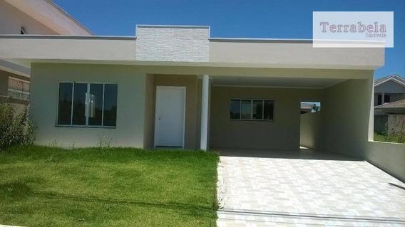 Casa Residencial À Venda, Condomínio Bosque Dos Cambarás, Vinhedo. - Ca0155