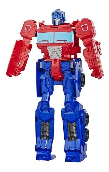 Brinquedo Transformers Titan Changer Optimus Hasbro E5888