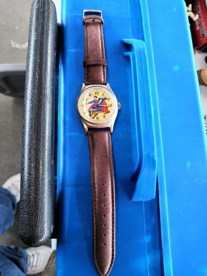 Superman Reloj Marca Fossil Vintage