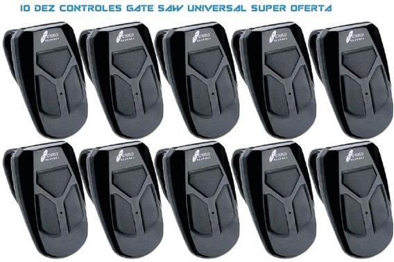 Controle Remoto Gate Control Saw 433 - 10 Pçs Preto - Genno