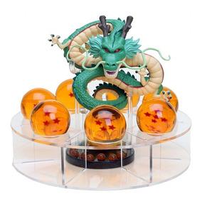 Shenlong Dragão Kit 7 Esferas + Base + Brinde Chaveiro Dbz