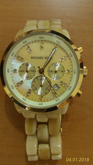 Relógio Michael Kors Madreperola Semi Novo Original