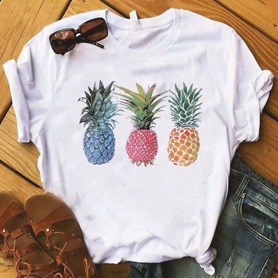 Blusinha / Camiseta Abacaxi