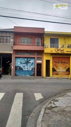Salão Para Alugar, 100 M² Por R$ 2.999,00/mês - Jardim São Gabriel - São Paulo/sp - Sl0035