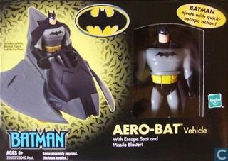 Batman Aero Bat Vehiculo Hasbro Original. Replay