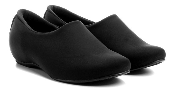 Sapato Usaflex Impermeável Neoprene Diabetes N2251db Preto