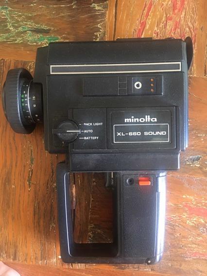 Câmera Minolta Xl-660 Sound Super 8