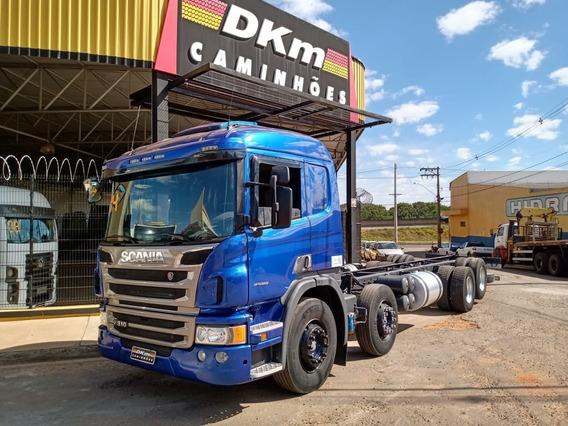 Scania P 310 Automatica Bitruck 2014 Completo Recuperado