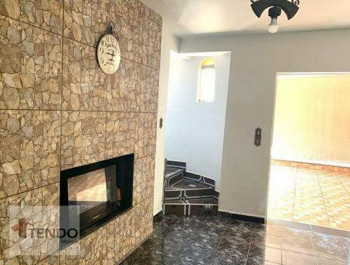 Imagem 1 de 15 de Imob03 - Imob03 À Venda, - 3 Dormitórios  - 745.000 - Vila Amorim - Suzano/sp - Ca0822