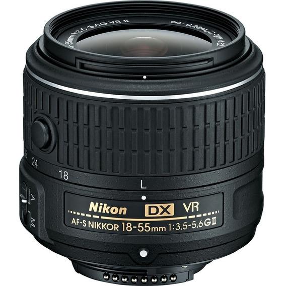 Lente Nikon 18-55mm F/3.5-5.6g Vr