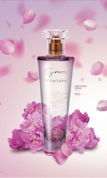 Perfume Grace La Rose Sublime 100 Ml