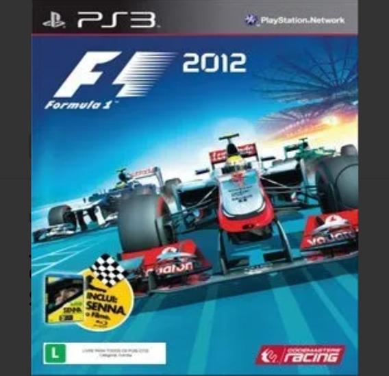 F1 2012 Ps3 Mídia Digital