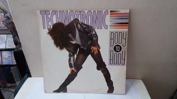 Lp Technotronic Body To Body 1991 Ja