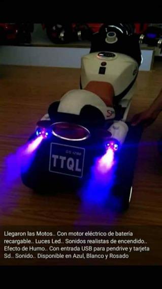 Moto De Juguete Para Ninos En Navidad A Bateria Recargable