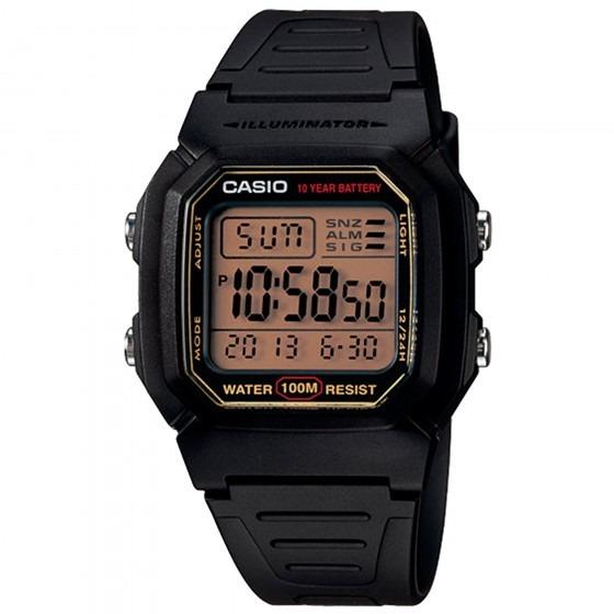 Relógio Casio W-800hg-9avdf Masculino Preto - Refinado