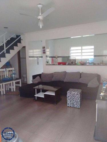 Casa De Condomínio Com 2 Dorms, Esplanada Dos Barreiros, São Vicente - R$ 260.000,00, 80m² - Codigo: 11760 - V11760