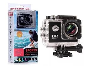 Câmera Espot 2inch Lcd 1080p 12mp Câmera Mergulho + Bastão