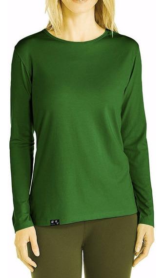 Camisa Feminina Com Proteção Solar Fps50 Anti Uv