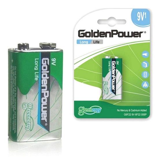 Bateria 9v G6f22 6f22 P/ Jack Para Violão Plug P10