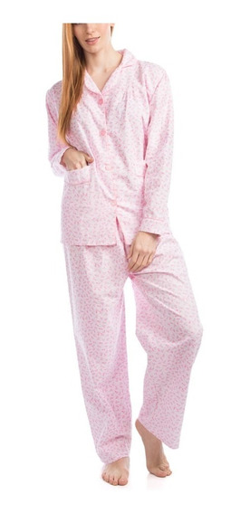 Pijama Franela Dama Mod 300 Algodon Sanforizado 1 Juego