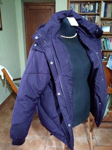 Campera H&m Padded Jacket Mujer Talle Us 8 Violeta
