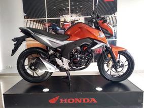 Honda Cb 160 Dlx Naranja Metalico Neon