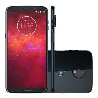Celular Motorola Moto Z3 Play 64gb Dual Chip Xt1929 Vitrine