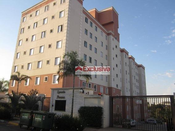 Apartamento Com 2 Dormitórios À Venda, 47 M² Por R$ 240.000,00 - Jardim Vista Alegre - Paulínia/sp - Ap0607