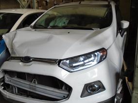 Ford Ecosport Titanium 1.6 Año 2017 En Desarme