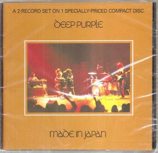 Deep Purple - Made In Japan (cd Nuevo Sellado Importado Usa)