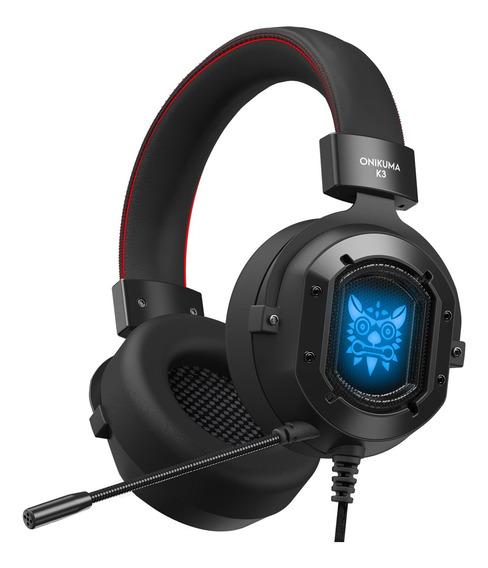 Onikuma K3 3.5mm Fone De Ouvido Estéreo Sobre Fones De