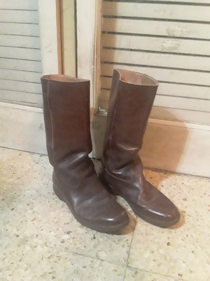 Botas De Montar Hombre / Cuero Marron / Talle 43