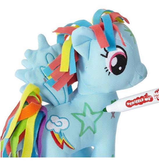 Peluche My Little Pony Para Pintar - Colores Brillantes - 20