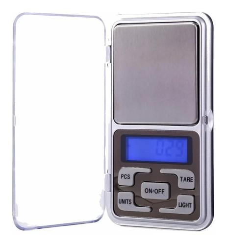 Mini Balanza Portable Pocket Scale Digital 0.1 A 500 Gramos