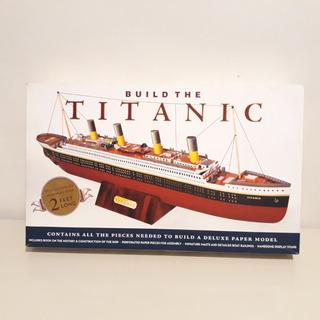 Titanic Modelo De Papel Para Armar Leer Descripción