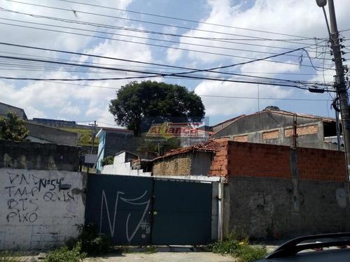 Terreno Comercial À Venda, Cidade Parque Alvorada, Guarulhos. - Ai4283