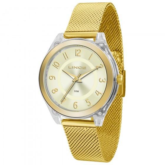 Relógio Lince Lrg4432p C2kx Color Block Feminino- Refinado