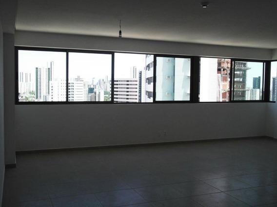 Sala Em Casa Forte, Recife/pe De 66m² À Venda Por R$ 430.000,00 - Sa589960