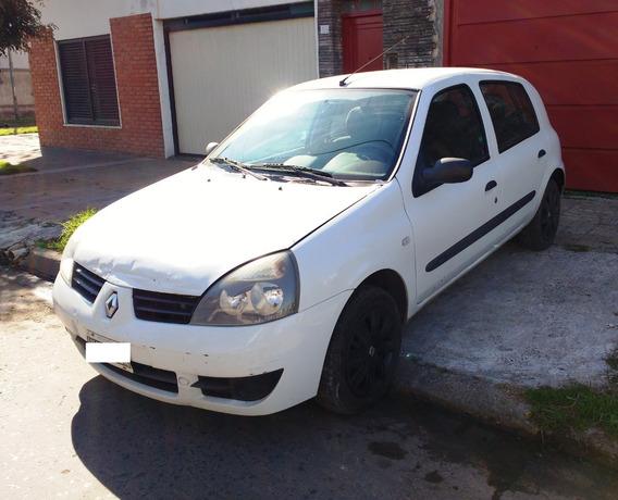Renault Clio Motor 1.2 2009 Blanco 4 Puertas